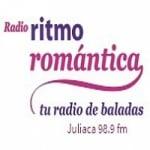 Logo da emissora Radio Ritmo Romántica 98.9 FM