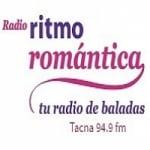 Logo da emissora Radio Ritmo Romántica 94.9 FM