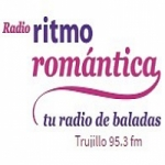 Logo da emissora Radio Ritmo Romántica 95.3 FM