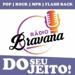 Logo da emissora Rádio Bravana Pop