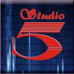 Logo da emissora Radio Studio 5 97.7 FM