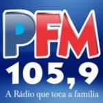 Logo da emissora Rádio Parente 105.9 FM