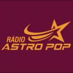 Logo da emissora Rádio Astro Pop FM