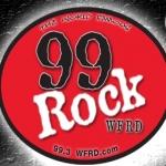 Logo da emissora WFRD 99.3 FM