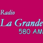 Logo da emissora Radio La Grande 580 AM