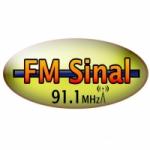 Logo da emissora Rádio FM Sinal 91.1