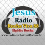 Logo da emissora Web R�dio Rocha Viva 88