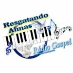 Logo da emissora Rádio Resgatando Almas