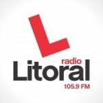 Logo da emissora Radio Litoral 105.9 FM