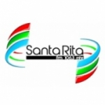 Logo da emissora R�dio Santa Rita 106.3 FM