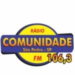 Logo da emissora Rádio Comunidade 106.3 FM