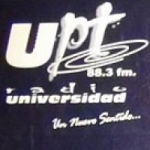 Logo da emissora UPT Radio Universidad 88.3 FM