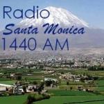 Logo da emissora Radio Santa Monica 1440 AM