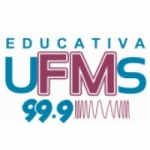 Logo da emissora Rádio Educativa UFMS 99.9 FM