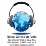 Logo da emissora Rádio Gotas de Vida