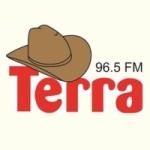 Logo da emissora Rádio Terra 96.5 FM