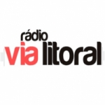 Logo da emissora Rádio Via Litoral