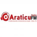 Logo da emissora Rádio Araticu 87.9 FM