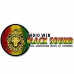 Logo da emissora Rádio Web Black Sound