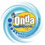 Logo da emissora Rádio Onda Sapucaí 104.9 FM