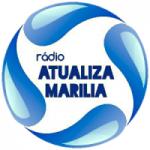 Logo da emissora Rádio Atualiza Marília