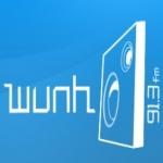 Logo da emissora WUNH 91.3 FM