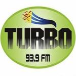 Logo da emissora Radio Turbo 93.9 FM