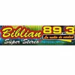 Logo da emissora Radio Biblian Super Stereo 89.3 FM