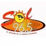 Logo da emissora Radio Sol 96.5 FM