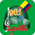 Logo da emissora Radio Zapotillo 96.1 FM