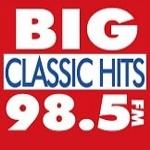 Logo da emissora Radio KABG 98.5 FM