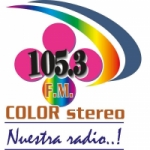 Logo da emissora Radio Color Stereo 105.3 FM
