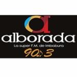 Logo da emissora Radio Alborada 90.3 FM