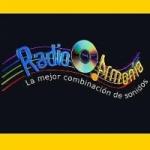 Logo da emissora Radio Armonía 98.1 FM