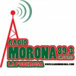 Logo da emissora Radio Morona 98.3 FM
