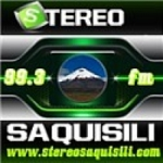 Logo da emissora Radio Stereo Saquisili 99.3 FM