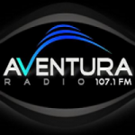 Logo da emissora Radio Aventura 107.1 FM