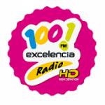 Logo da emissora Radio Excelencia 100.1 FM