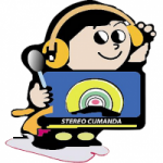 Logo da emissora Radio Estéreo Cumandá 101.5 FM