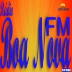 Logo da emissora Rádio Boa Nova FM