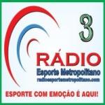 Logo da emissora Rádio Esporte Metropolitano 3