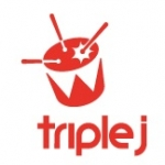 Logo da emissora Radio Triple J 105.7 FM