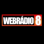 Logo da emissora Web Rádio 8