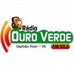 Logo da emissora Rádio Ouro Verde 101.5 FM