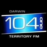 Logo da emissora Radio Territory FM 104.1
