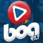 Logo da emissora Rádio Boa 97.7 FM