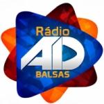 Logo da emissora Rádio AD Balsas