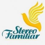 Logo da emissora Radio Stereo Familiar 107.3 FM