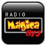 Logo da emissora Radio Magica 87.7 FM