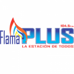 Logo da emissora Radio Flama Plus 104.5 FM